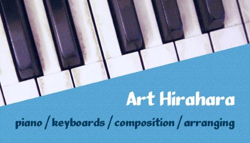 Art's business card