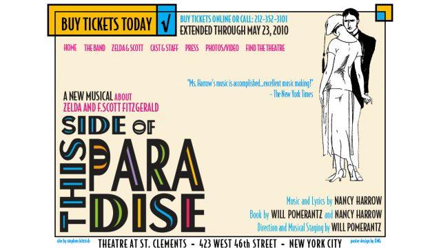A musical directed by Will Pomerantz Art Hirahara: Musical Director paradisethemusical.com